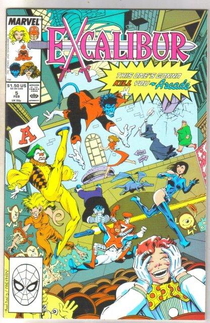 Excalibur #5 comic book mint 9.8