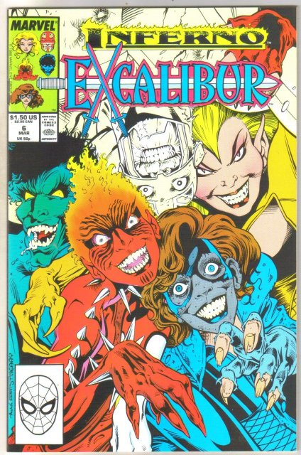 Excalibur #6 comic book mint 9.8