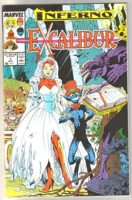 Excalibur #7 comic book mint 9.8