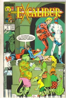 Excalibur #9 comic book mint 9.8