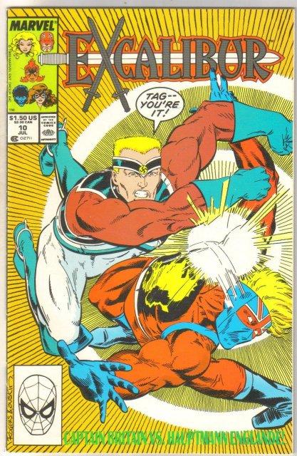 Excalibur #10 comic book mint 9.8
