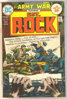 Our Army at War featuring Sgt. Rock #278 comic book very good 4.0