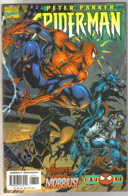 Spider-man #77 comic book mint 9.8