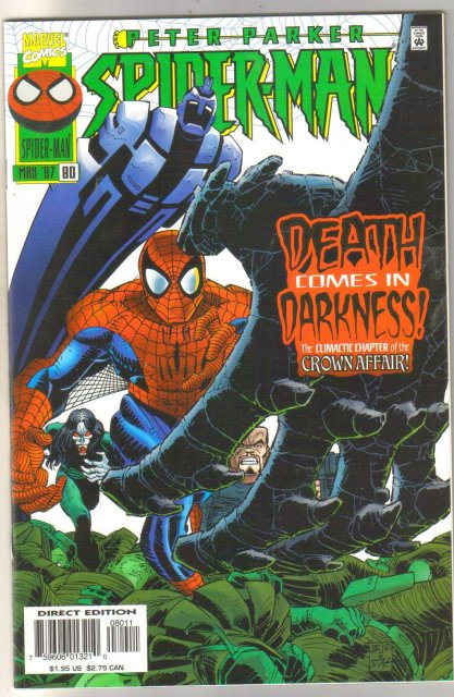 Spider-man #80 comic book mint 9.8