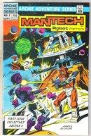 Mantech #1 comic book near mint 9.4