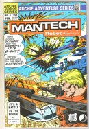 Mantech #3 comic book near mint 9.4