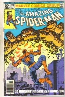 Amazing Spider-man #218 fine 6.0
