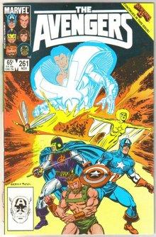 Avengers #261 near mint 9.4