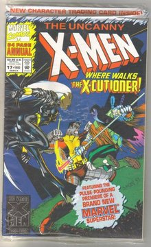 Uncanny X-men annual #17 mint 9.8