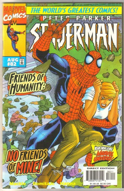 Spider-man #82 comic book mint 9.8