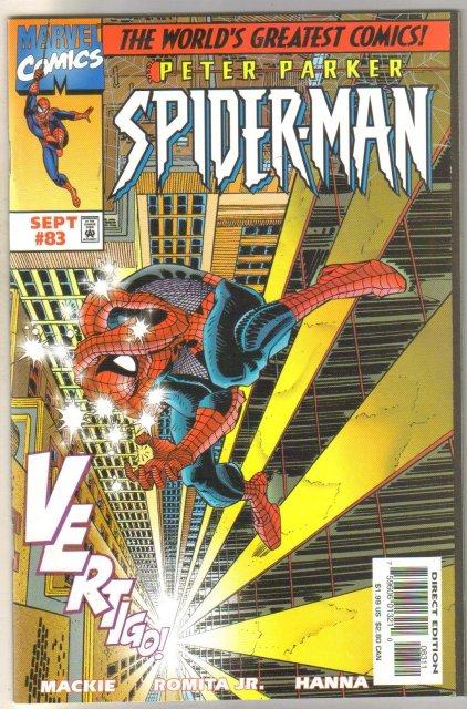 Spider-man #83 comic book mint 9.8