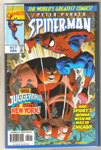 Spider-man #84 comic book mint 9.8