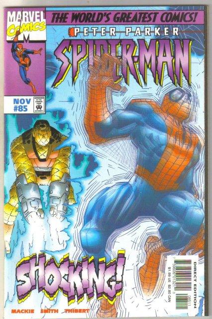 Spider-man #85 comic book mint 9.8