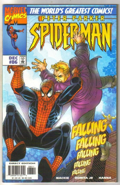 Spider-man #86 comic book mint 9.8