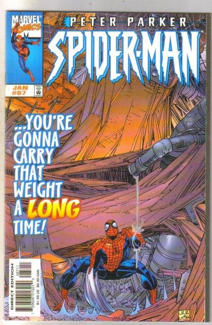 Spider-man #87 comic book mint 9.8