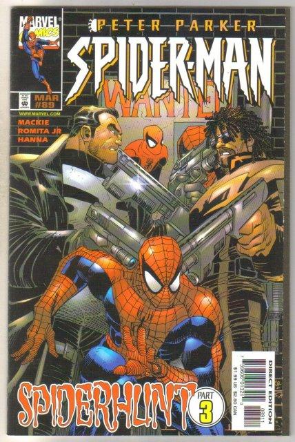 Spider-man #89 comic book mint 9.8