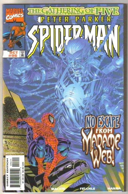 Spider-man #96 comic book mint 9.8