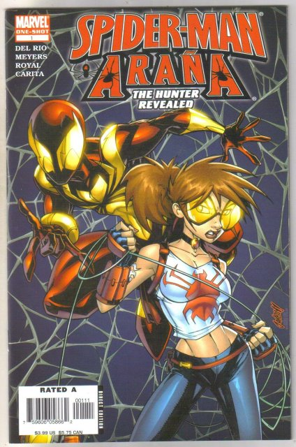 Spider-man and Arana #1 comic book near mint 9.4