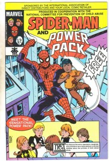 Spider-man and Power Pack promotional giveaway comic book mint 9.8