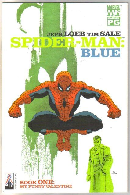Spider-man: Blue #1 comic book mint 9.8
