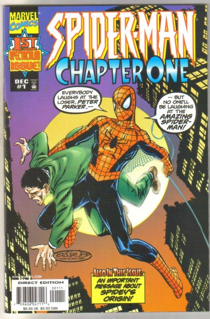 Spider-man Chapter One #1 comic book near mint 9.4