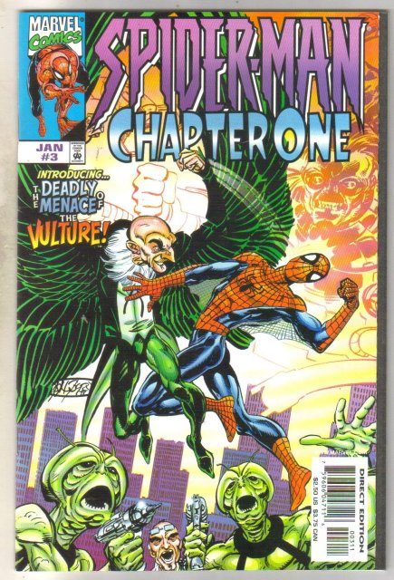 Spider-man Chapter One #3 comic book near mint 9.4