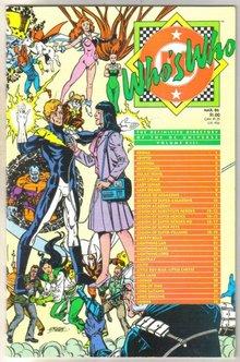 Who's Who #13 comic directory near mint 9.4