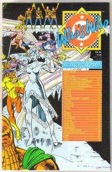 Who's Who #12 comic directory near mint 9.4