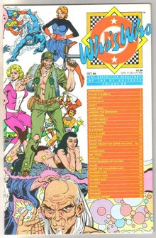 Who's Who #20 comic directory  mint 9.8