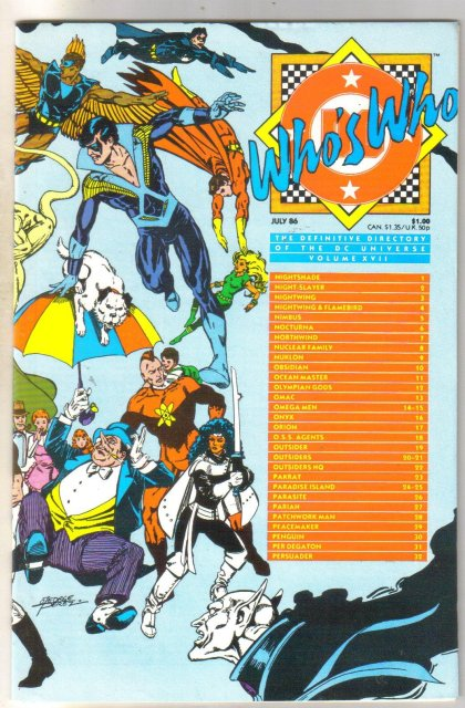 Who's Who #17 comic directory  mint 9.8