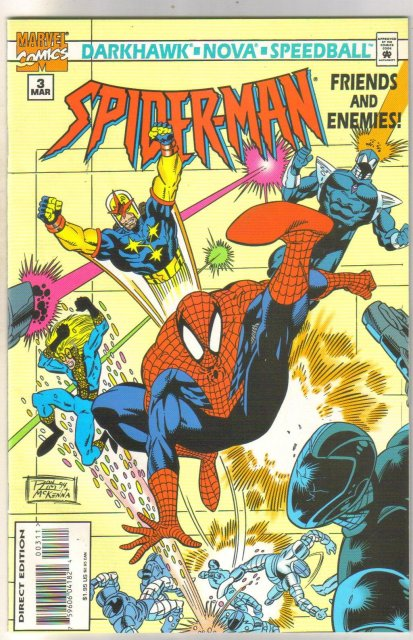 Spider-man Friends and Enemies #3 comic book near mint 9.4