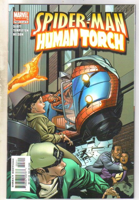 Spider-man Human Torch #3 comic book mint 9.8