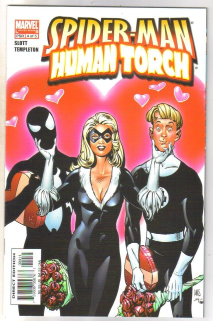 Spider-man Human Torch #4 comic book mint 9.8