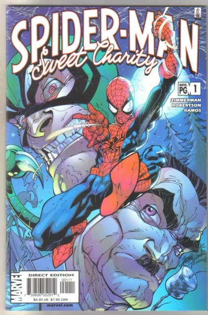 Spider-man Sweet Chastity #1 comic book mint 9.8