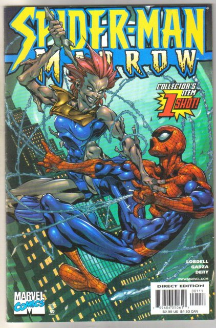 Spider-man Marrow #1 mint 9.8
