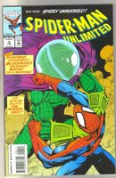 Spider-man Unlimited #4 comic book near mint 9.4
