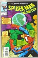 Spider-man Unlimited #4 comic book near mint 9.4