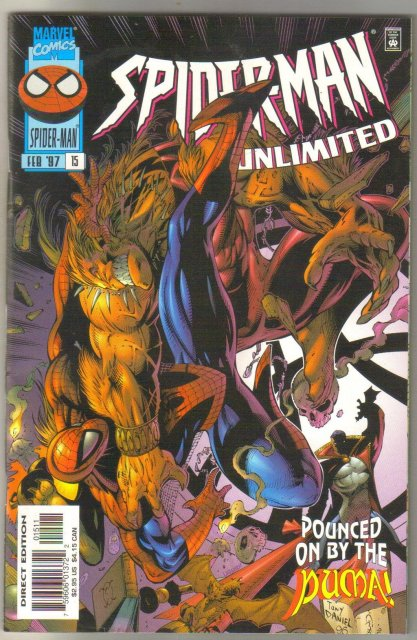 Spider-man Unlimited #15 comic book near mint 9.4