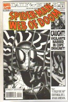 Spider-man Web of Doom #2 near mint 9.4