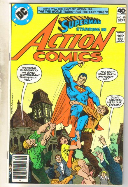 Action Comics #499 comic book near mint 9.4
