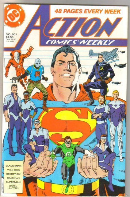 Action Comics #601 comic book mint 9.8