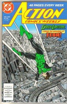 Action Comics #602 comic book mint 9.8