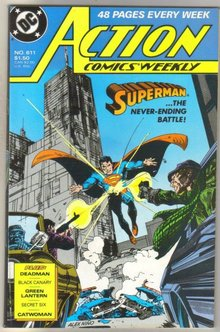 Action Comics #611 comic book mint 9.8