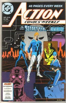 Action Comics #612 near mint 9.4