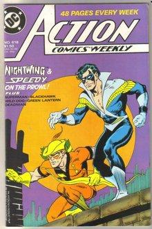 Action Comics #618 near mint 9.4
