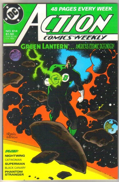 Action Comics #614  mint 9.8