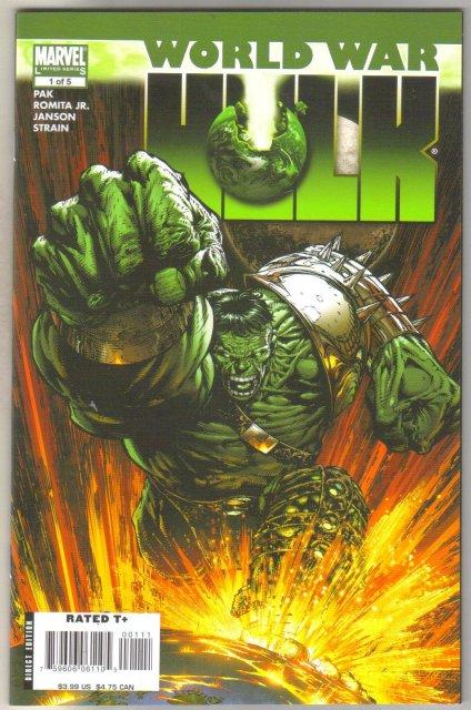 World War Hulk #1 comic book  mint 9.8