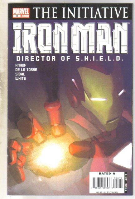 Iron Man #18 comic book  mint 9.8