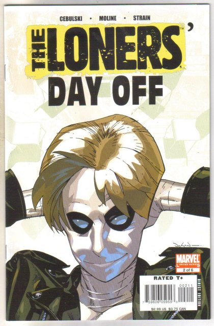 The Loners #2 comic book  mint 9.8