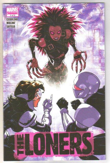 The Loners #3 comic book  mint 9.8